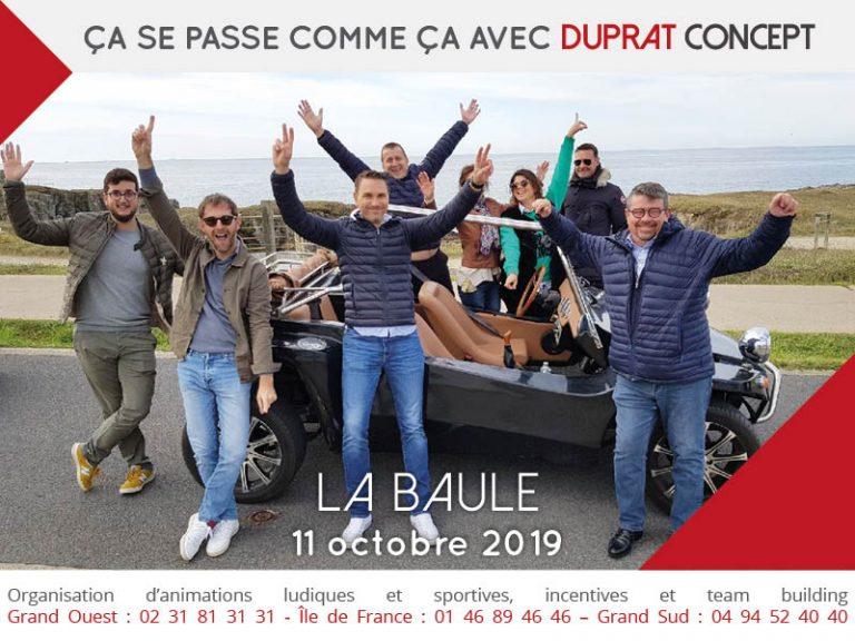 Balade en Buggy Vintage entre Guérande et La Baule avec Duprat Concept