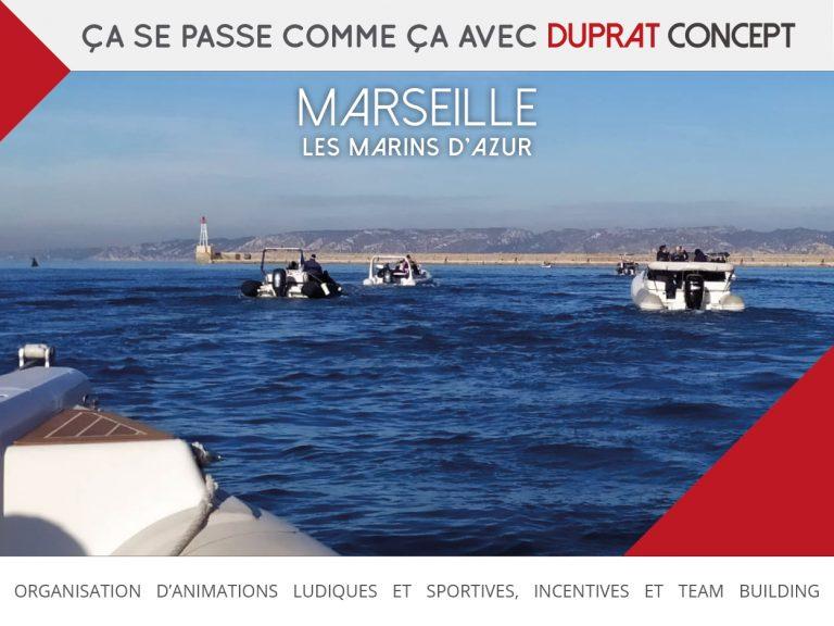Les Marins d'Azur, une découverte de Marseille par la mer